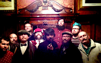 The Liverbeards line-up