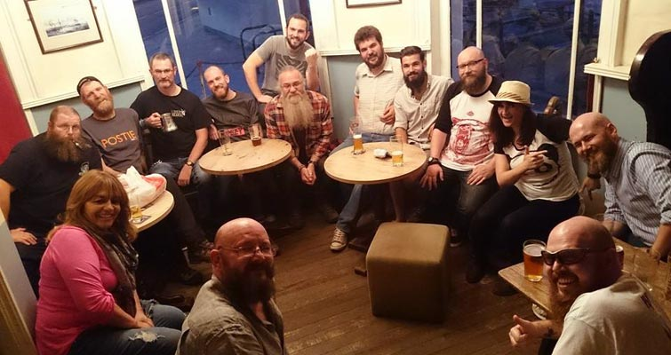 &ldquo;Amazing beard club meet last night in the <em>Baltic Fleet</em>, couldn't believe the turn-out! Thanks to everyone that came, looking forward to the next!&rdquo; - The Liverbeards.