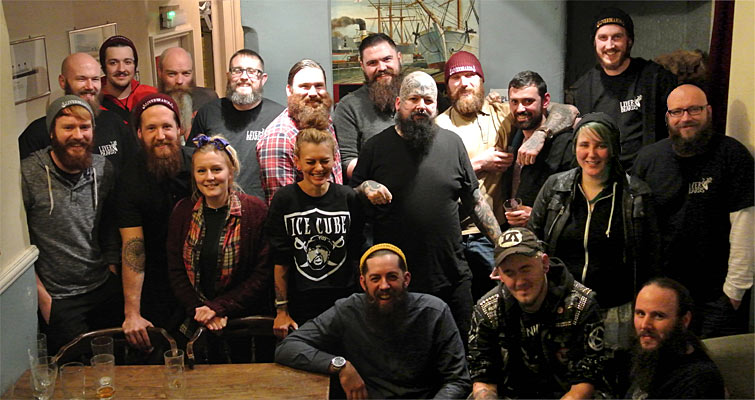 A big thanks to everyone that turned up to Liverbeard Club at The Baltic Fleet on November 25th