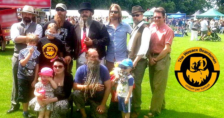 The Wessex Beardsmen co-hosted the Beard and Moustache competition at The Collet Park festival in Shepton Mallet on the 14th June