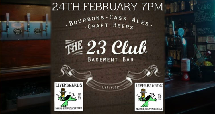 Next Liverbeard Club at The 23 Club, Hope Street Liverpool, Merseyside L1 9BY on Tuesday 24th February