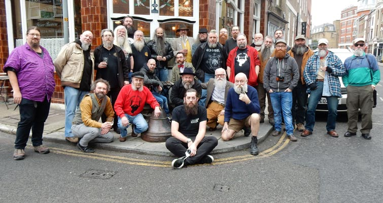 The 2015 AGM Gathering at The Royal Oak, Tabard St., London - Photo from Bob Walker