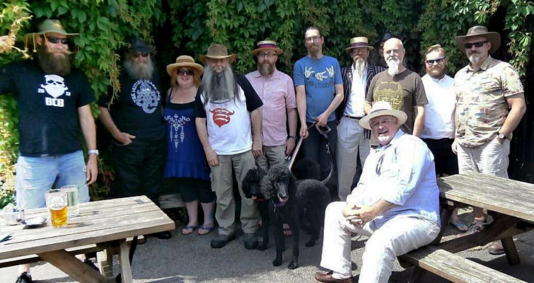 The Essex Beardsmen's July Gathering at the Queens Head, Burnham-on-Crouch
