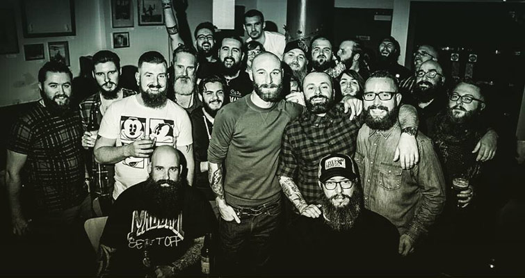 First Glasgow Beard and Moustache Club Gathering of the year is on the 31st of January back at the Official 13th Note from 7pm onwards. Everyone is welcome