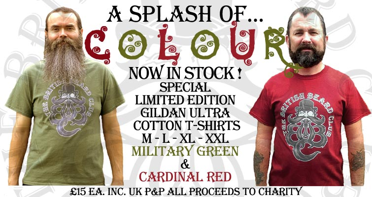 A Splash Of Colour - Now In Stock! Special Limited Edition Gildan Ultra T-Shirts in Military Green and Cardinal Red - M-L-XL-XXL only