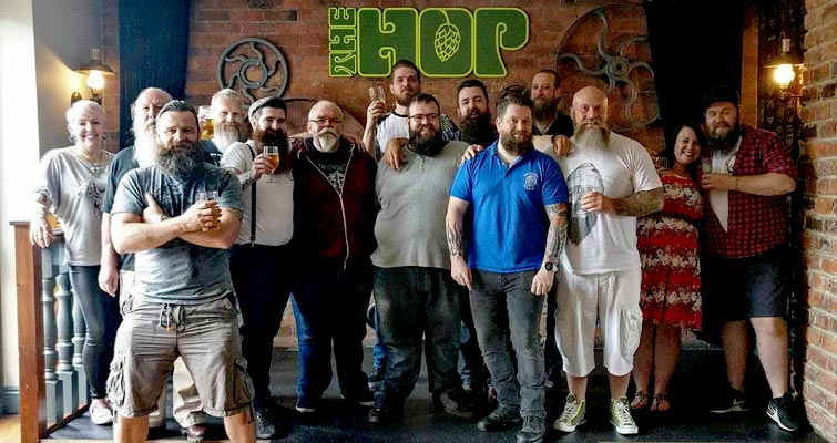 The Yorkshire Beardsmen June meet in Wakefield. This is what The British Beard Club and The Yorkshire Beardsmen Thatch is all about!