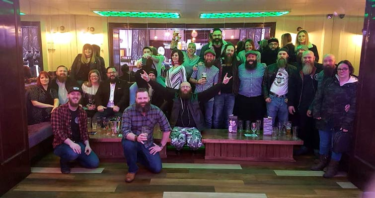 Another great meet in the Bag for The Yorkshire Beardsmen on 3rd February. Thanks for having us Hull!