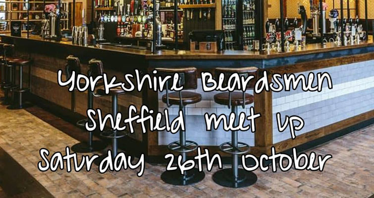 Have you cleared that diary? Saturday 26th October meeting up in the Head Of Steam, Sheffield around noon! Normal plan for us, sink a few drinks then venture out to see the town's great pubs!