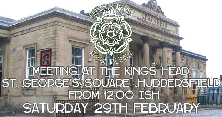 Date for the diary, guys and girls - Saturday 29th February - Huddersfield. As usual the Yorkshire Beardsmen TBBClub Thatch Meet location is to be decided and time will be around noon. [Original Photo : Richard Harvey, Wikimedia Commons; cropped and lightened]