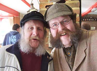 George and Mycroft - Brothers in Muttonchops