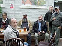 Members and friends at The Filo, Old Town, Hastings, East Sussex
