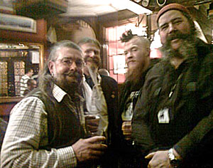 British Beardsmen meet and drink