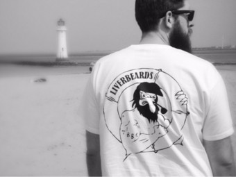 The brand new Liverbeards T-shirt design. These will be available very soon!