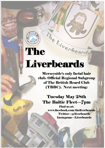The Liverbeards May 28th Meet Flyer
