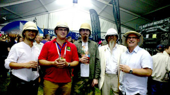 Some of the Essex Beardsmen's 2013 Pith Artists - Click to enlarge
