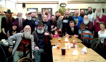 The South Saxon Beardsmen's first meet was a great success with 26 attending at The Lord Nelson Inn, Brighton - Click/Tap to enlarge