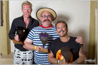 Styled Moustache Winners - Wessex Beardsmen Beard and Moustache Competition