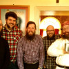 A few of the Liverbeards propping up the Baltic Fleet bar! - Click to enlarge