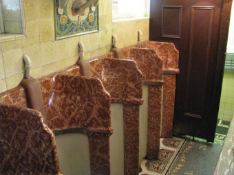 One of a kind! The Ornate Gents Loo at The Philharmonic Dining Rooms, Liverpool