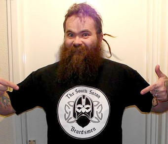SSB organiser Trev models the T-shirt - Now only size XXLs left! Click to enlarge